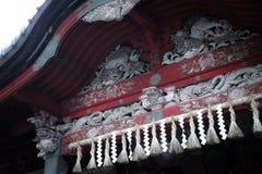 Detail-Japanertempel Lizenzfreies Stockbild