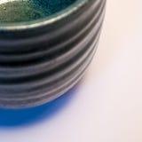 Detail of Japanese handmade pottery merchandise from Tokoname. Stock Photo