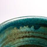 Detail of Japanese handmade pottery merchandise from Tokoname. Stock Image
