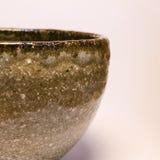 Detail of Japanese handmade pottery merchandise from Tokoname. Stock Photos