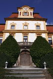 Detail of jemniste chateau. In Czech Republic Stock Photos