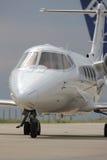 Detail of jet plane Stock Photos