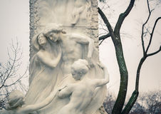 Detail of Johann Strauss Statue in Vienna Royalty Free Stock Image
