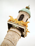 Detail of Karlskirche church, Vienna Royalty Free Stock Image