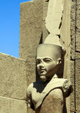 Detail of the Karnak Temple Complex. Royalty Free Stock Images