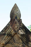 Detail of khmer stone carving Royalty Free Stock Image