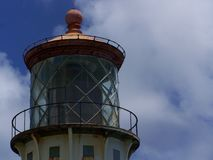 Detail, Kilauea Lighthouse, Kilauea, HI Stock Images