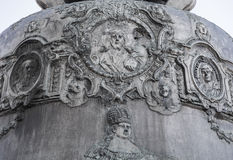 Detail of the king bells in the Kremlin Stock Images