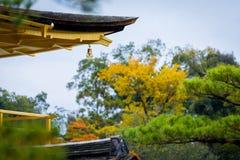 Detail of kinkakuji temple golden pavilian Stock Photography