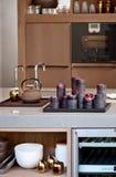 Detail of kitchen table Stock Photos