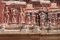 Detail of Krishna temple. Hampi, Karnataka state, India Royalty Free Stock Photography