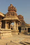 Detail of the Krishna temple in Hampi Stock Photos