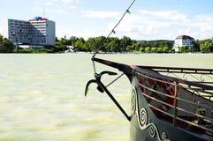Detail of Lake Balaton at Keszthely, Stock Images