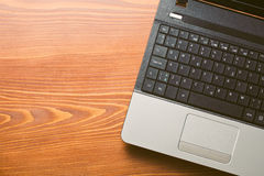 Detail of laptop Royalty Free Stock Images