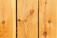 Detail of larch wood. Wood background. Place for your text Stock Photography