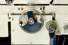 Detail of lathe machine Royalty Free Stock Photos