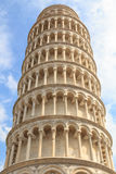 Detail of the leaning tower of Pisa Royalty Free Stock Image