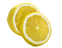 Detail of lemon Royalty Free Stock Photos