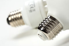 Detail of light bulbs Royalty Free Stock Photos
