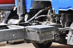 Detail of light trucks Stock Image