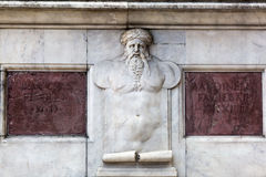 Detail at the Loggia dei Lanzi in Florence Stock Images