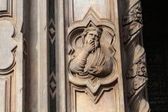 Detail on Loggia del Bigallo Stock Photos