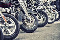 Detail and logo of Harley - Davidson Royalty Free Stock Photography