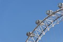 Detail of the London Eye Royalty Free Stock Photo