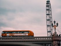 Detail of The London Eye - London royalty free stock photography