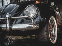 Old VW Volkswagen Beetle Royalty Free Stock Images