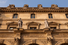 Detail of the Louvre, Paris Stock Photo