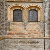 Detail of Luther church in Georgsmarienhuette, Germany Royalty Free Stock Photos