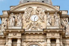 Detail from Luxemburg Palace in Paris Royalty Free Stock Images