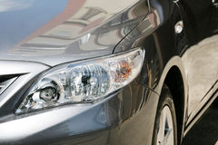 Detail of a luxury car Stock Images