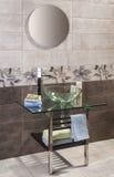 Detail of luxury private bathroom interior Stock Image