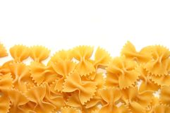 Detail of Macaroni pasta useful as a background Stock Photography