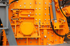 Detail of machinery Royalty Free Stock Image