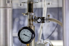 Detail of machinery in physics laboratory Stock Photos