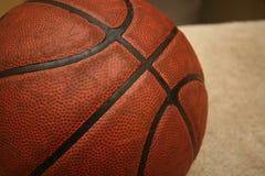 Detail macro of basket ball Royalty Free Stock Photos