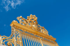 Detail of main gate of Versailles palace Royalty Free Stock Photo