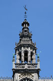 Detail of Maison du Roi on Grand Place in Brussels. Stock Photo