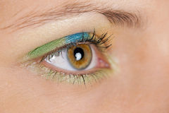 Detail of make-up Royalty Free Stock Photography