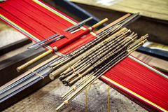 Traditional loom detail Stock Photography