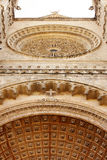 Detail of Mallorca cathedral in Palma. Spain Stock Photos
