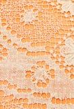 Detail of Maltese bobbin lace close up Stock Photo