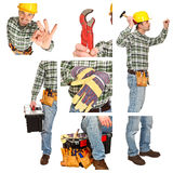 Detail of manual worker Royalty Free Stock Image