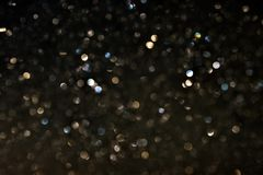 Many bokeh circle light for background Royalty Free Stock Photo