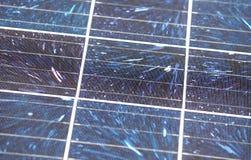 Detail of many solar panels Stock Photo