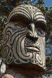 Detail of Maori totem Stock Image