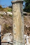Detail marble column Stock Photo